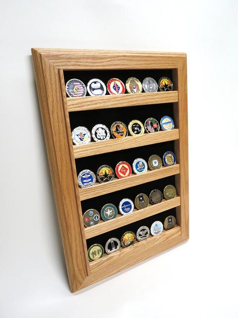 coin display wall