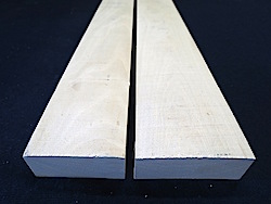 "Holly Lumber (4/4) - 2 pcs (ea over 5"" wide!)"