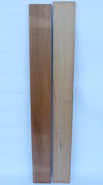 Mahogany (genuine)  4/4 - 2pcs