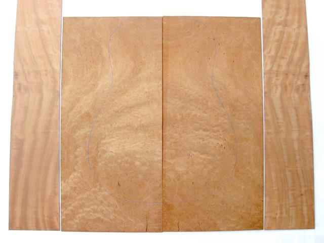 Sapele (Quilted) Acoustic Guitar Set