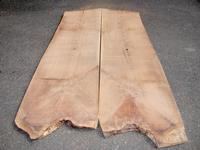 Walnut, Black  flitches  2 x 25 x 105 (2 pcs)