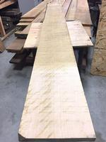 Hard Maple, Premium (curly-quilted)  1-1/8 x 10 x 121